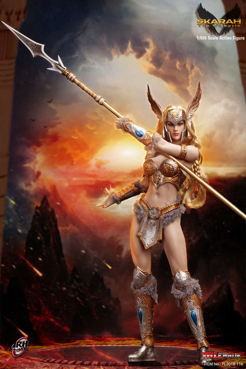 NEW PRODUCT: TBLeague Skarah, The Valkyrie 1/6 Scale Action Figure (PL2018-116) 21430410