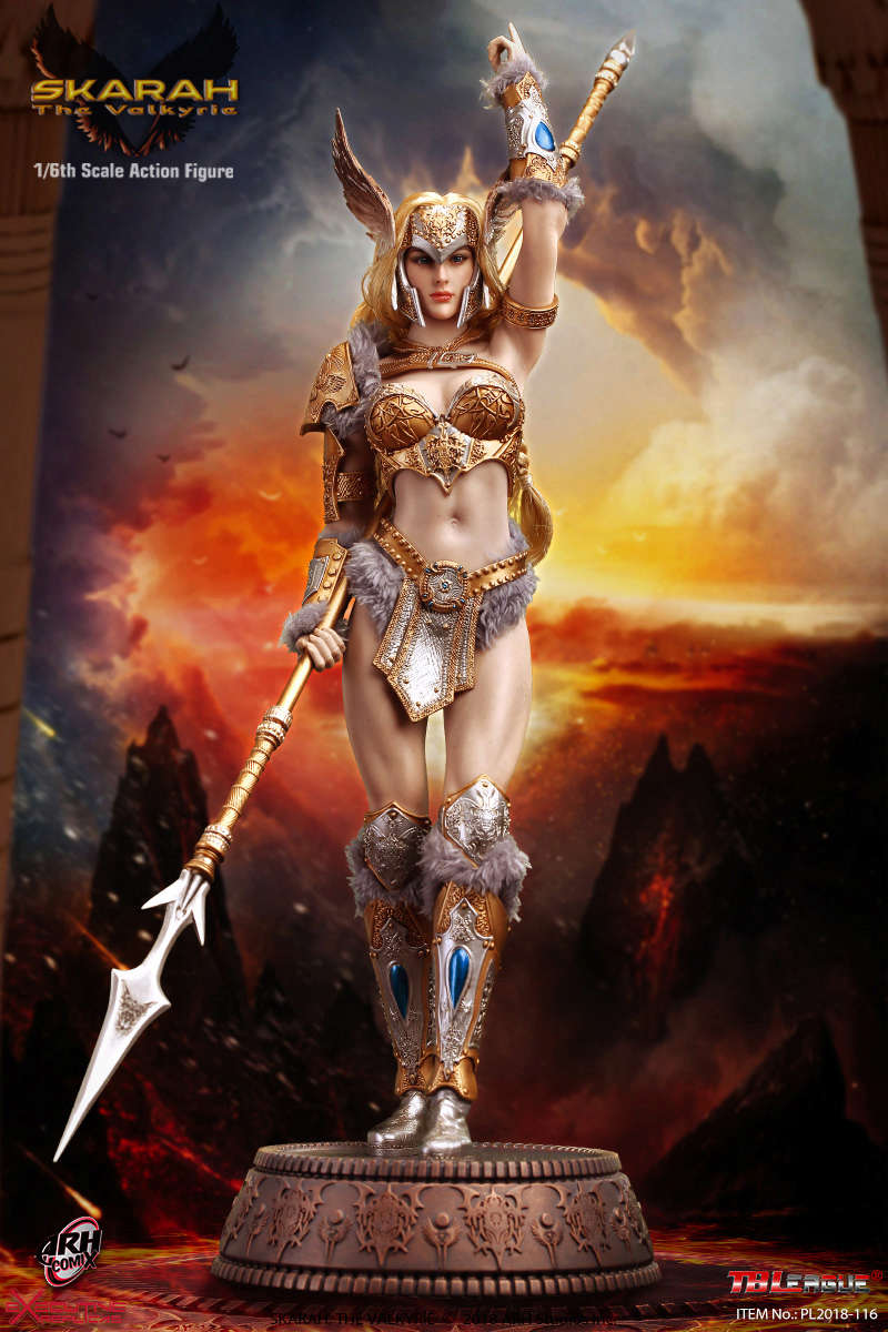NEW PRODUCT: TBLeague Skarah, The Valkyrie 1/6 Scale Action Figure (PL2018-116) 21430610
