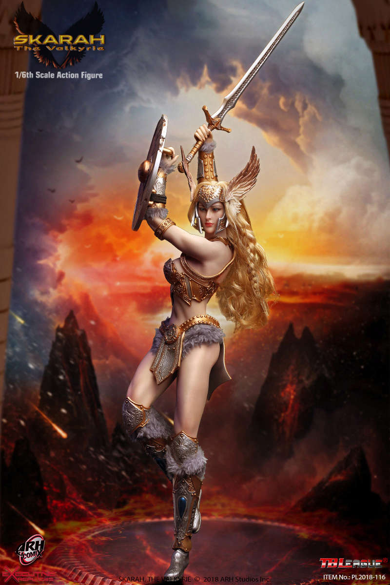 NEW PRODUCT: TBLeague Skarah, The Valkyrie 1/6 Scale Action Figure (PL2018-116) 21430710