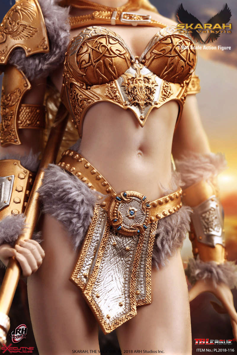 NEW PRODUCT: TBLeague Skarah, The Valkyrie 1/6 Scale Action Figure (PL2018-116) 21431210