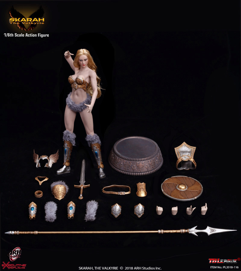 NEW PRODUCT: TBLeague Skarah, The Valkyrie 1/6 Scale Action Figure (PL2018-116) 21431610
