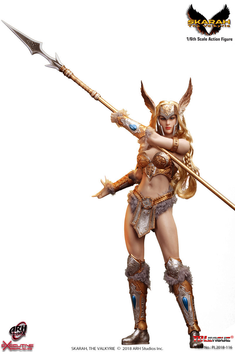 NEW PRODUCT: TBLeague Skarah, The Valkyrie 1/6 Scale Action Figure (PL2018-116) 21431710