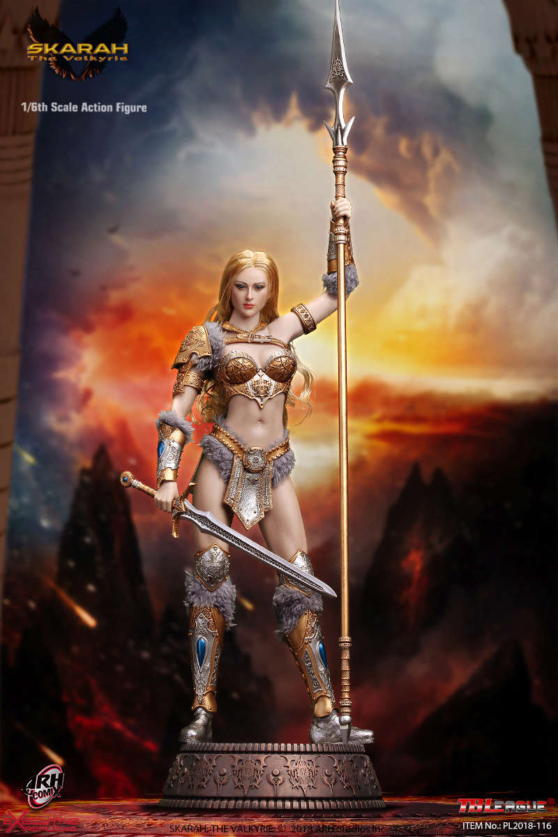 NEW PRODUCT: TBLeague Skarah, The Valkyrie 1/6 Scale Action Figure (PL2018-116) 21431711