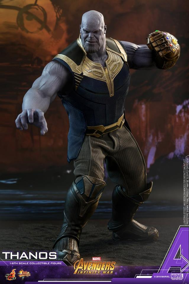 thanos - NEW PRODUCT: Hot Toys Avengers: Infinity War Thanos 29598310
