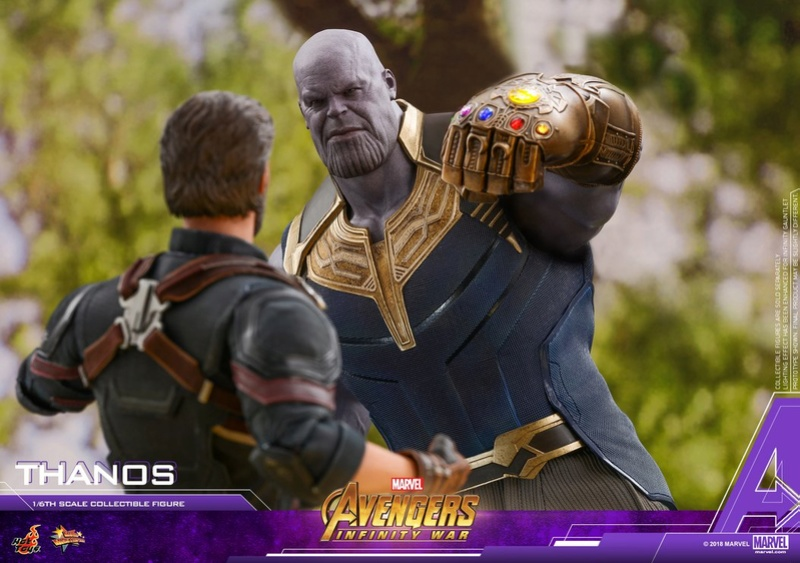 thanos - NEW PRODUCT: Hot Toys Avengers: Infinity War Thanos 29665411