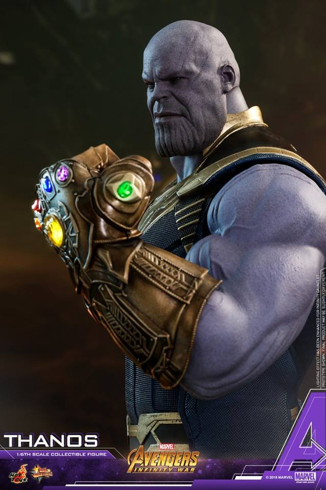 thanos - NEW PRODUCT: Hot Toys Avengers: Infinity War Thanos 29683610