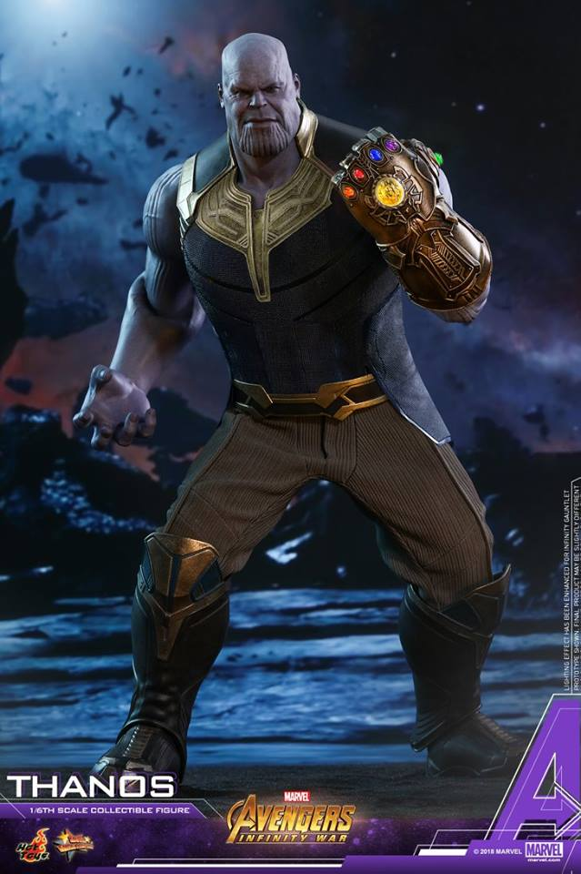 thanos - NEW PRODUCT: Hot Toys Avengers: Infinity War Thanos 29694510