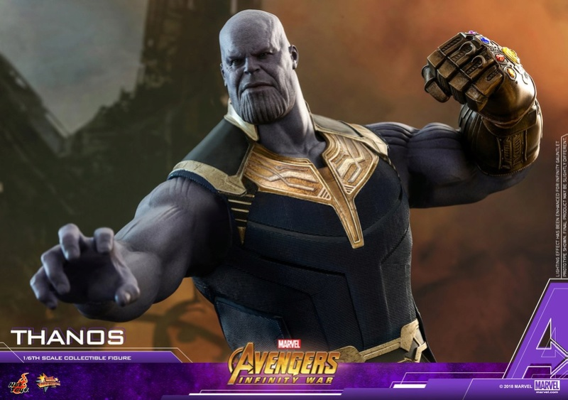 thanos - NEW PRODUCT: Hot Toys Avengers: Infinity War Thanos 29745010