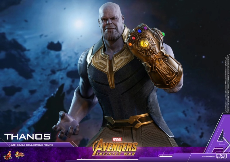 thanos - NEW PRODUCT: Hot Toys Avengers: Infinity War Thanos 29749410