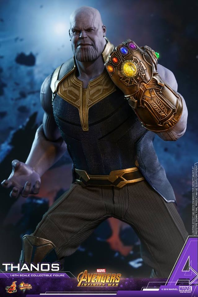 thanos - NEW PRODUCT: Hot Toys Avengers: Infinity War Thanos 29790010