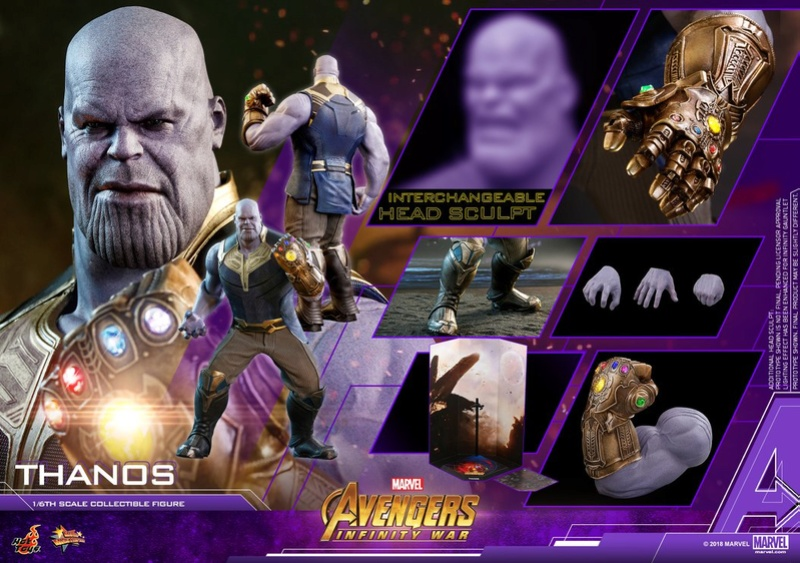 thanos - NEW PRODUCT: Hot Toys Avengers: Infinity War Thanos 29872410