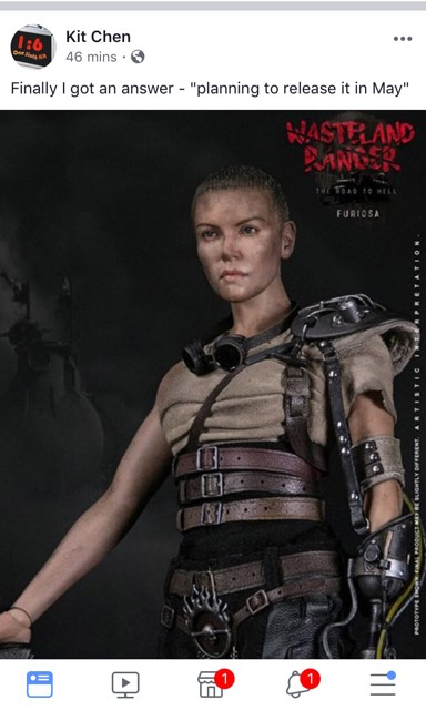 VTS Toys 1/6 Wasteland Ranger - Furiosa (Do Venders Have an Out?; UPDATED: 5/18/18) 30121210