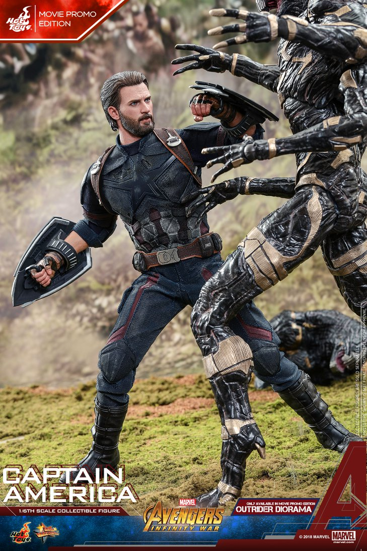 captainamerica - NEW PRODUCT: 1/6 - Hot Toys: MMS481 - Avengers: Infinity War - Captain America 30594610