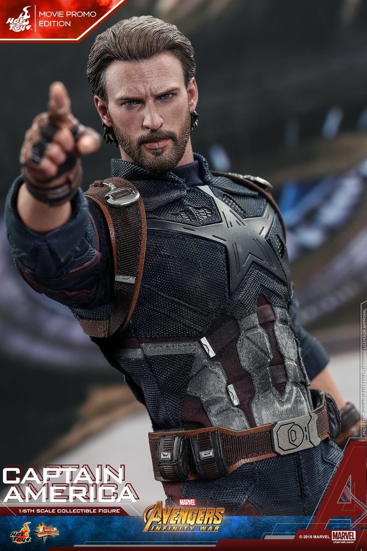 captainamerica - NEW PRODUCT: 1/6 - Hot Toys: MMS481 - Avengers: Infinity War - Captain America 30595210