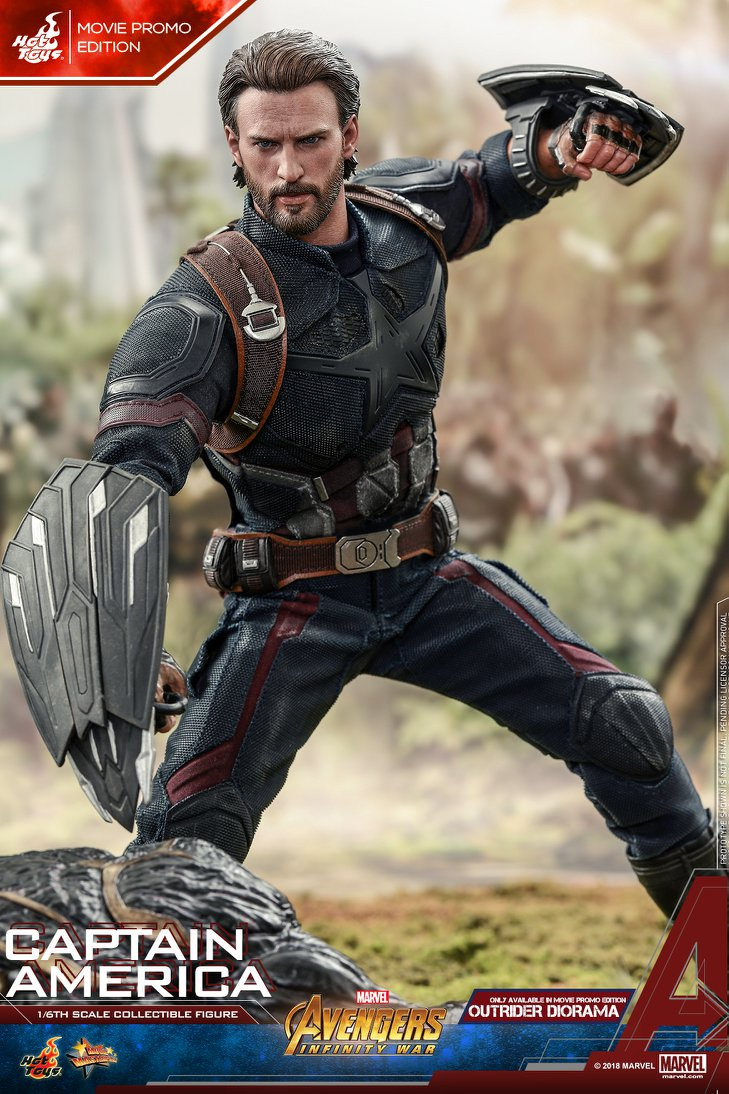 captainamerica - NEW PRODUCT: 1/6 - Hot Toys: MMS481 - Avengers: Infinity War - Captain America 30595310