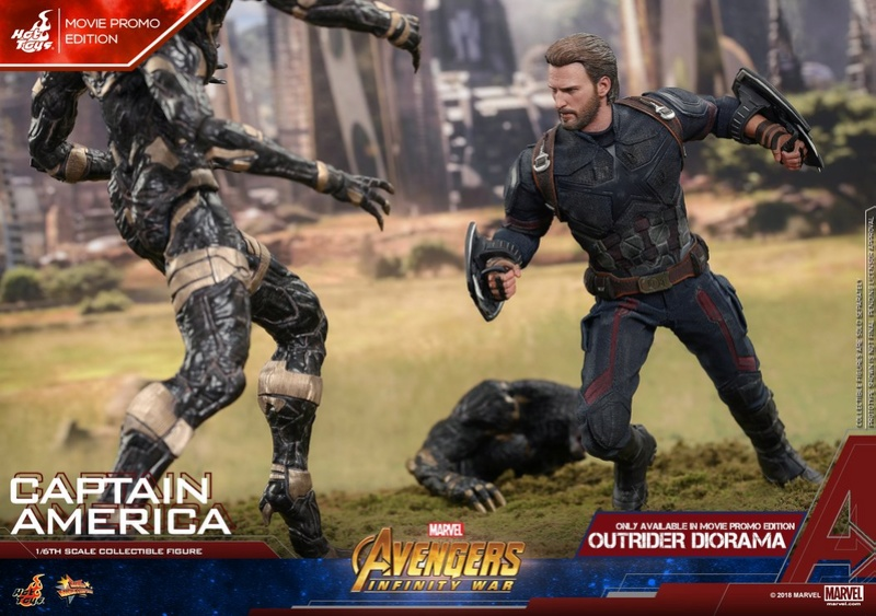 captainamerica - NEW PRODUCT: 1/6 - Hot Toys: MMS481 - Avengers: Infinity War - Captain America 30623810