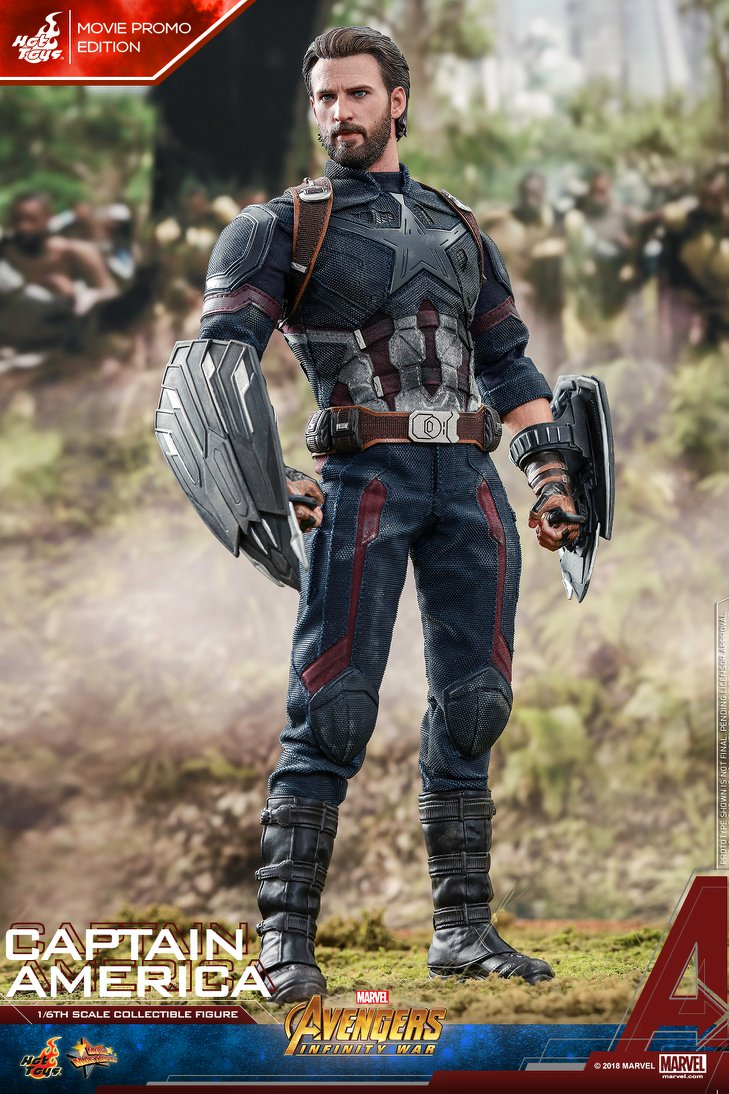 captainamerica - NEW PRODUCT: 1/6 - Hot Toys: MMS481 - Avengers: Infinity War - Captain America 30628810