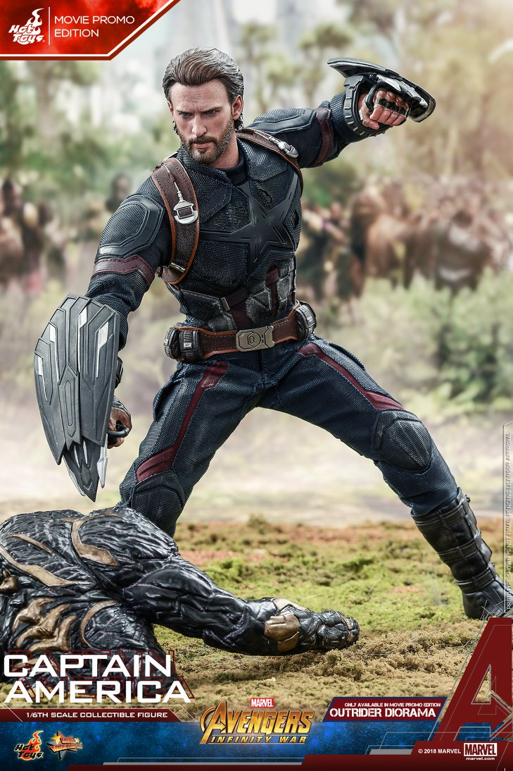 captainamerica - NEW PRODUCT: 1/6 - Hot Toys: MMS481 - Avengers: Infinity War - Captain America 30629310