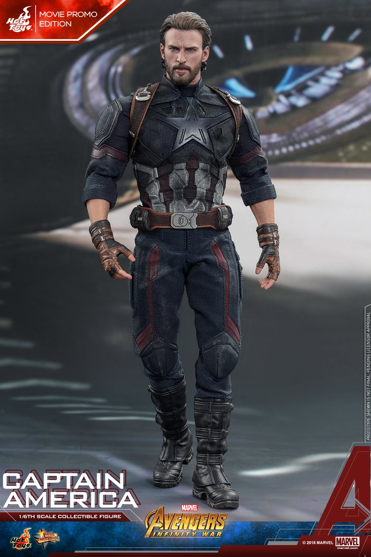 captainamerica - NEW PRODUCT: 1/6 - Hot Toys: MMS481 - Avengers: Infinity War - Captain America 30657010