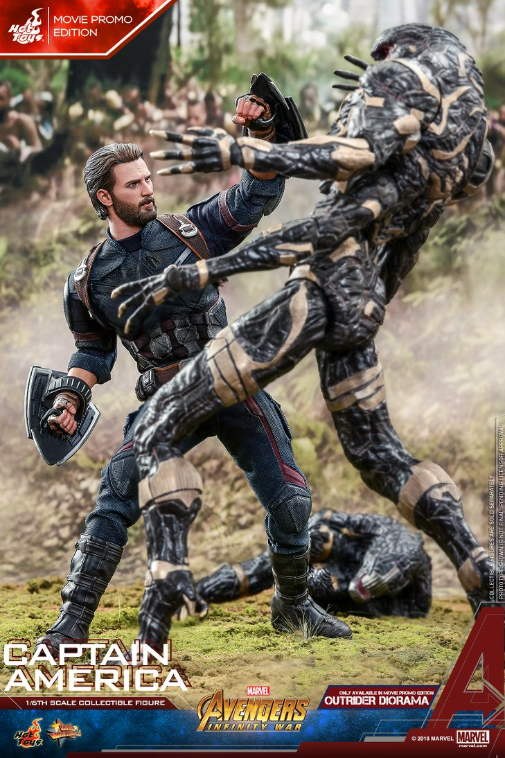 captainamerica - NEW PRODUCT: 1/6 - Hot Toys: MMS481 - Avengers: Infinity War - Captain America 30657110