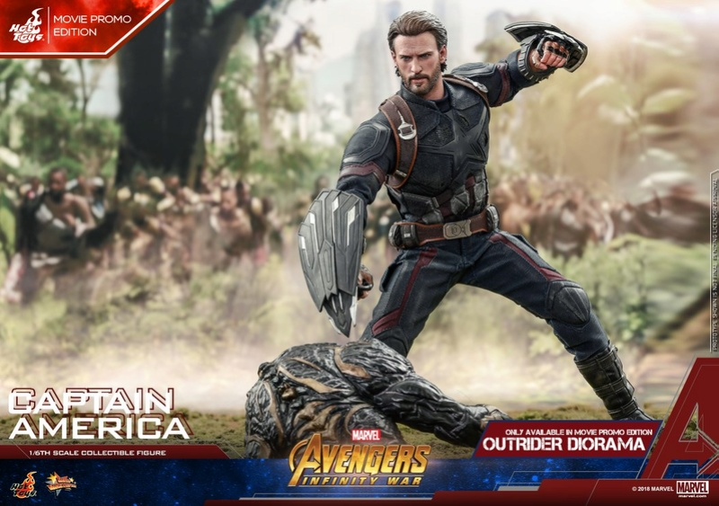 captainamerica - NEW PRODUCT: 1/6 - Hot Toys: MMS481 - Avengers: Infinity War - Captain America 30689210