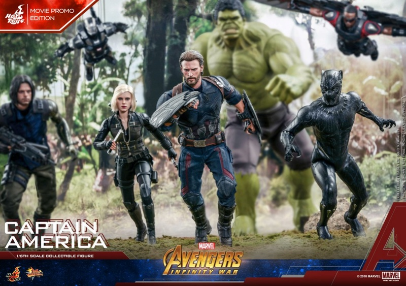 captainamerica - NEW PRODUCT: 1/6 - Hot Toys: MMS481 - Avengers: Infinity War - Captain America 30704710