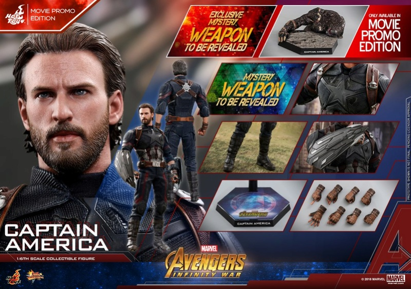 captainamerica - NEW PRODUCT: 1/6 - Hot Toys: MMS481 - Avengers: Infinity War - Captain America 30705210