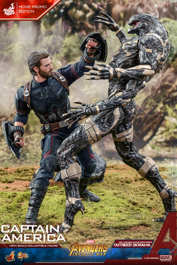 captainamerica - NEW PRODUCT: 1/6 - Hot Toys: MMS481 - Avengers: Infinity War - Captain America 30709910