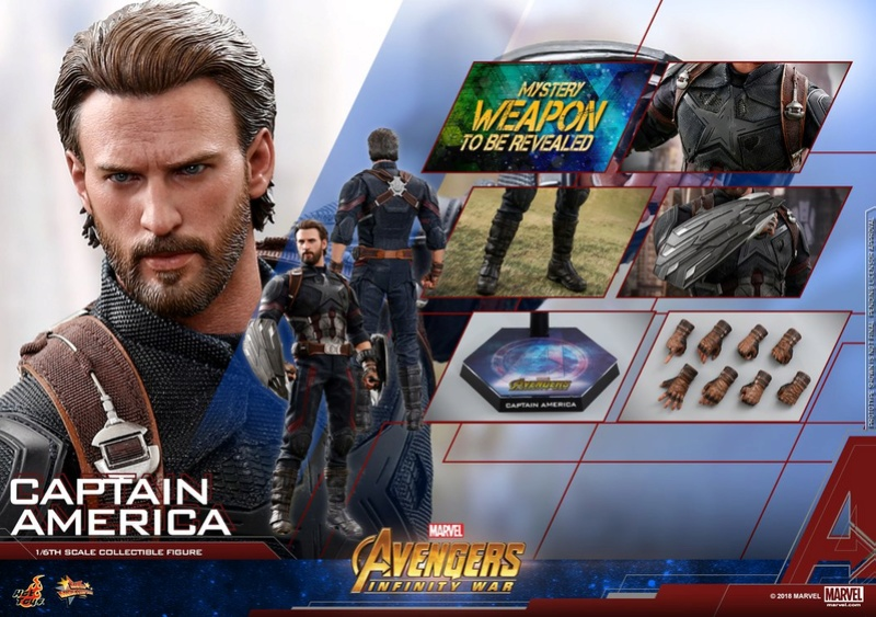 captainamerica - NEW PRODUCT: 1/6 - Hot Toys: MMS481 - Avengers: Infinity War - Captain America 30712210