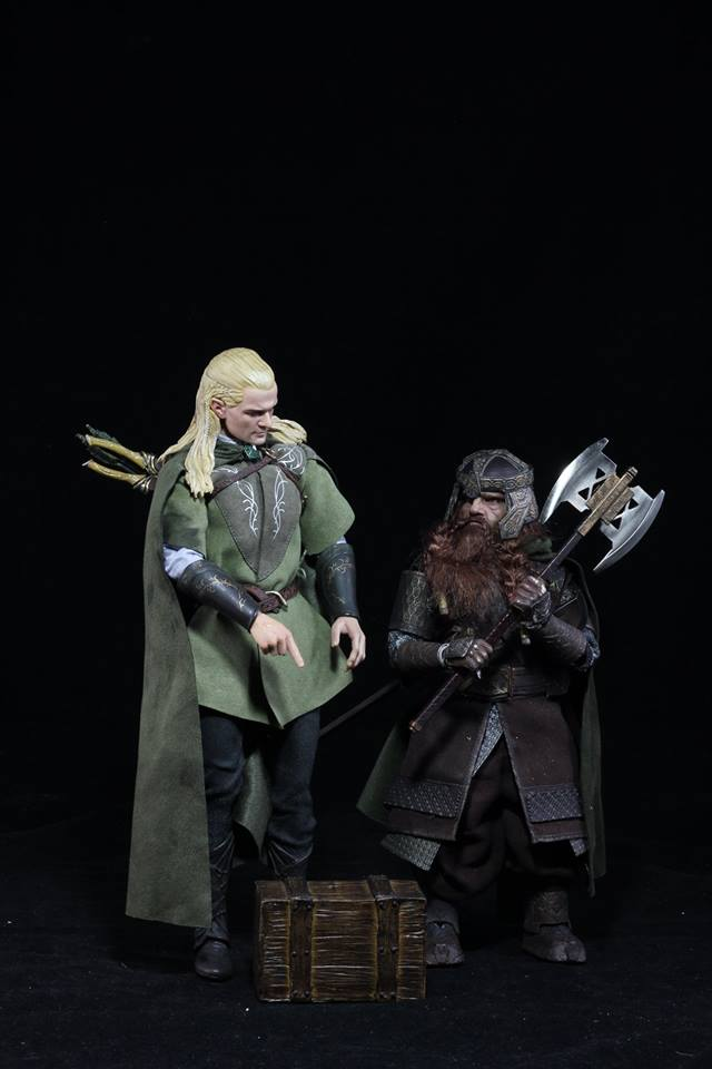 NEW PRODUCT: Asmus Toys The Lord of the Rings Series: Gimli (LOTR018) 30715910