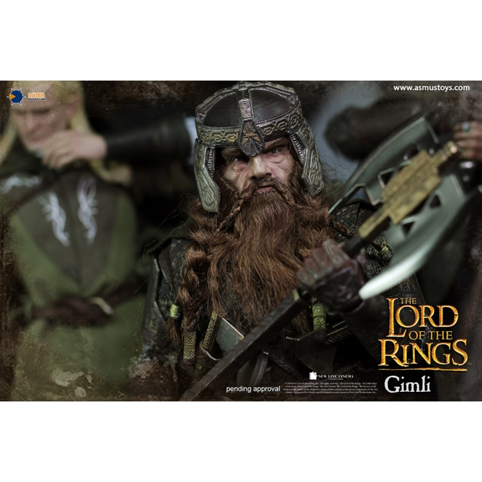 asmus - NEW PRODUCT: Asmus Toys The Lord of the Rings Series: Gimli (LOTR018) 311