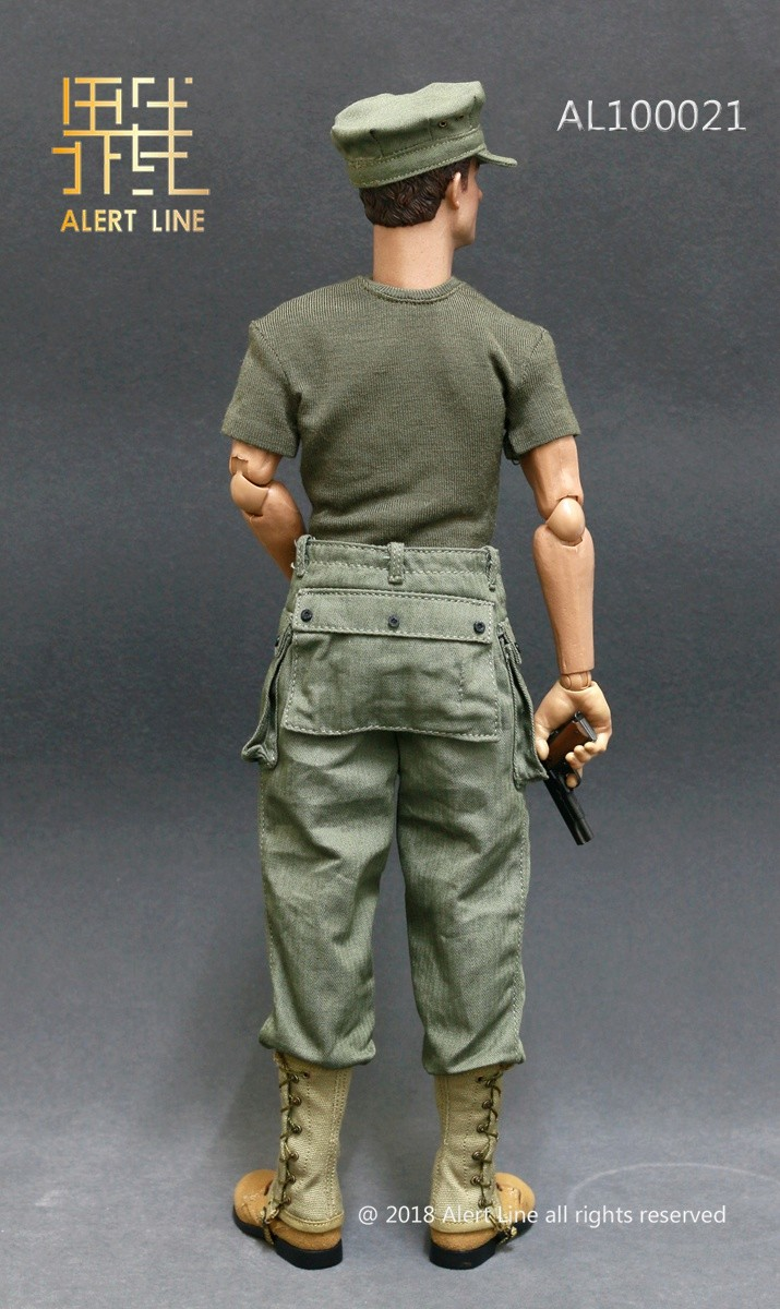 modern - NEW PRODUCT: Alert Line : 1/6 WWII US Marine Corps Browning Automatic Rifle (BAR) Gunner Set 318