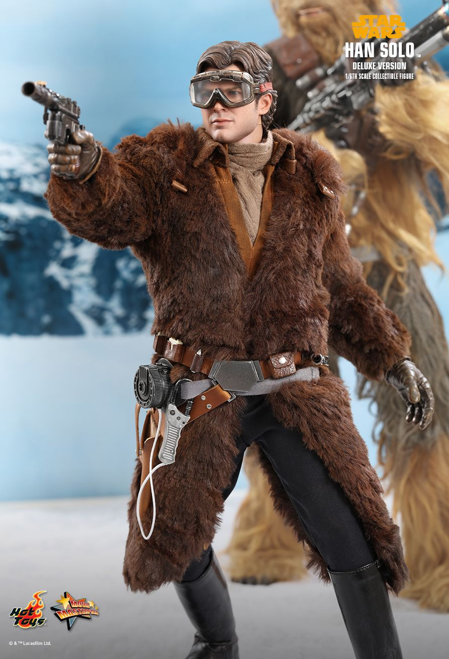 NEW PRODUCT: HOT TOYS: SOLO: A STAR WARS STORY HAN SOLO (TWO VERSIONS) 1/6TH SCALE COLLECTIBLE FIGURE 340