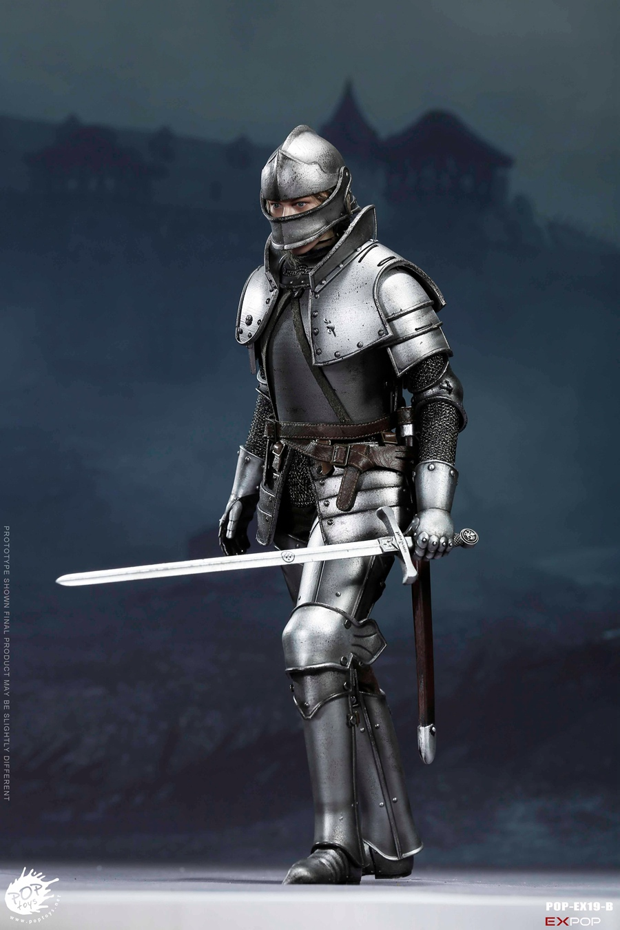 NEW PRODUCT: POPTOYS New Products: 1/6 St. Knights - Assault Edition & Triumph Edition & Iron Armor (POP-EX19 ABC) 347