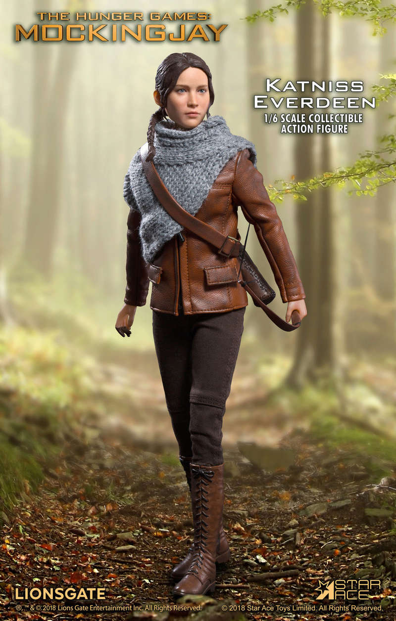 hungergames - NEW PRODUCT: [SA-0036] The Hunger Games Katniss Everdeen Hunting Version Star Ace 1/6 Figures 3_039010