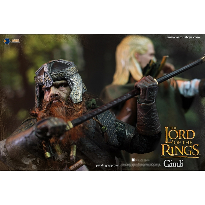 asmus - NEW PRODUCT: Asmus Toys The Lord of the Rings Series: Gimli (LOTR018) 411