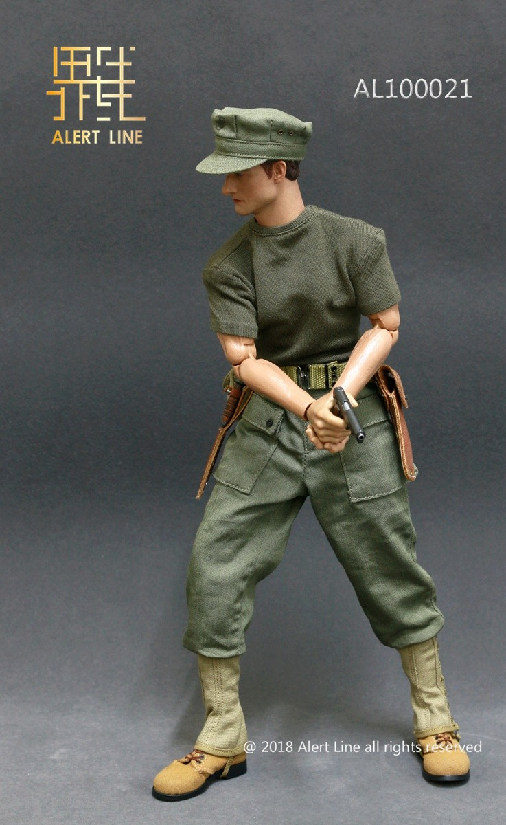 modern - NEW PRODUCT: Alert Line : 1/6 WWII US Marine Corps Browning Automatic Rifle (BAR) Gunner Set 418