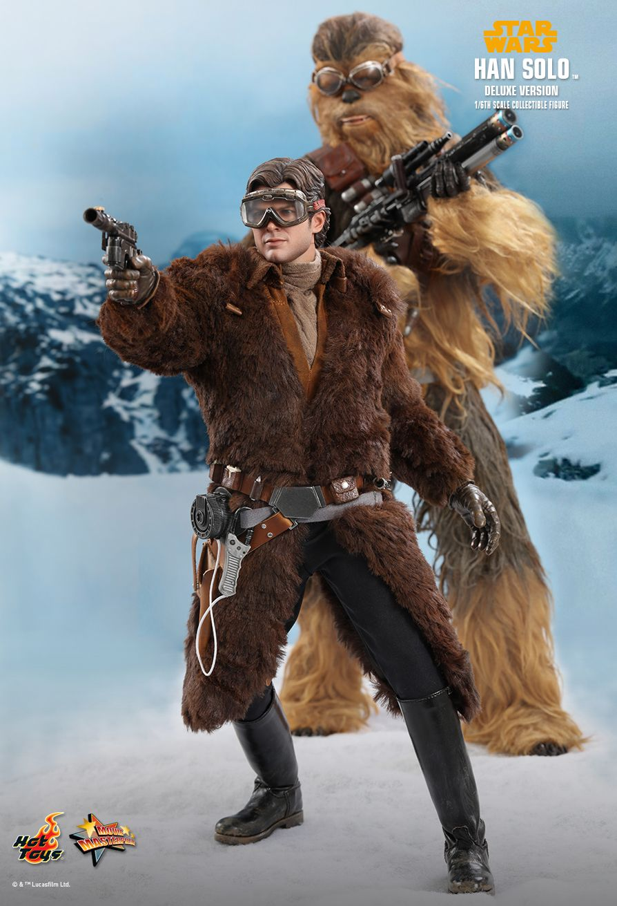 NEW PRODUCT: HOT TOYS: SOLO: A STAR WARS STORY HAN SOLO (TWO VERSIONS) 1/6TH SCALE COLLECTIBLE FIGURE 438
