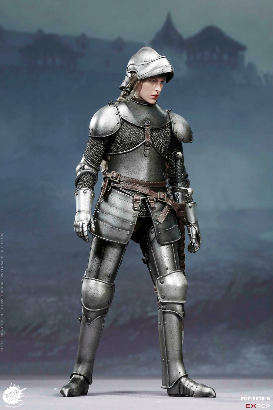 NEW PRODUCT: POPTOYS New Products: 1/6 St. Knights - Assault Edition & Triumph Edition & Iron Armor (POP-EX19 ABC) 442