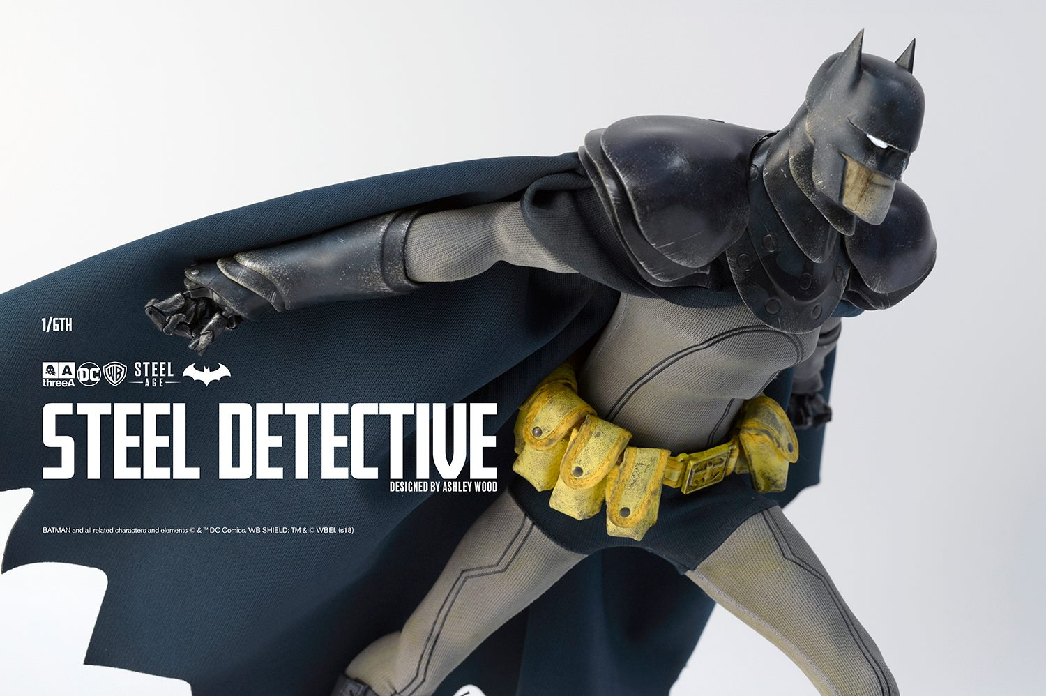 artisticinterpretation - NEW PRODUCT: ThreeA 1/6th scale Batman STEEL DETECTIVE 14-inch tall Collectible Figure (Preview Pics) 444