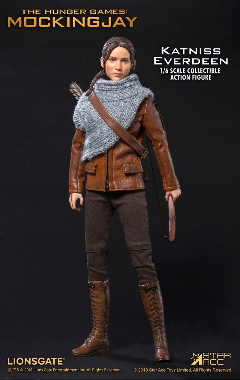 hungergames - NEW PRODUCT: [SA-0036] The Hunger Games Katniss Everdeen Hunting Version Star Ace 1/6 Figures 4_647410
