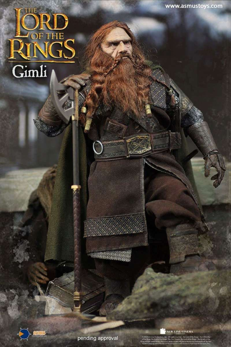 asmus - NEW PRODUCT: Asmus Toys The Lord of the Rings Series: Gimli (LOTR018) 510