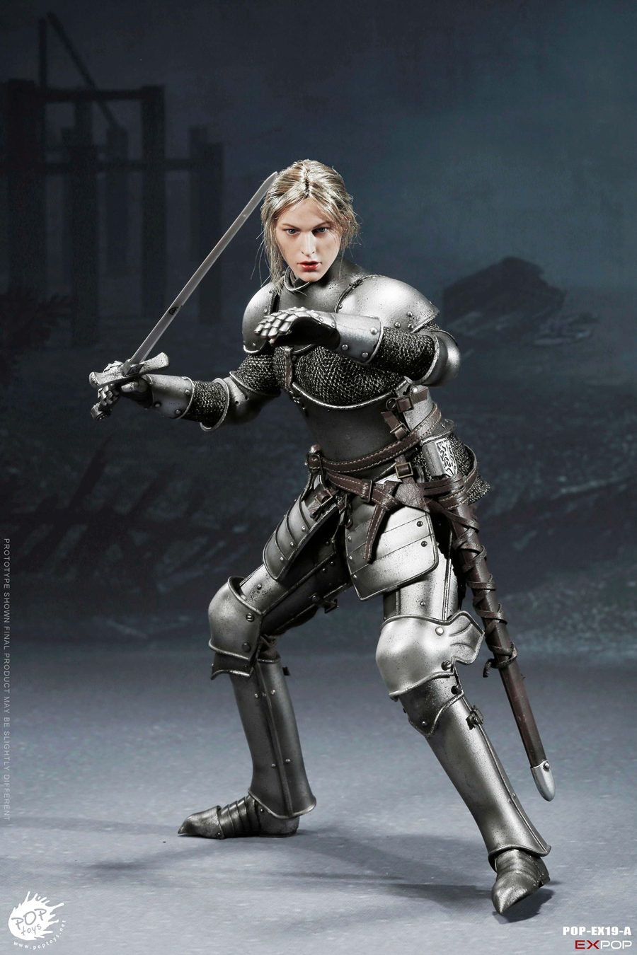 NEW PRODUCT: POPTOYS New Products: 1/6 St. Knights - Assault Edition & Triumph Edition & Iron Armor (POP-EX19 ABC) 541
