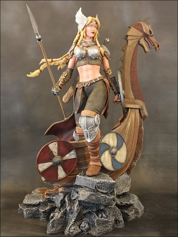 NEW PRODUCT: TBLeague Skarah, The Valkyrie 1/6 Scale Action Figure (PL2018-116) 5724f210