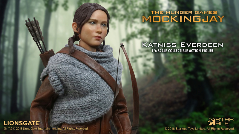 hungergames - NEW PRODUCT: [SA-0036] The Hunger Games Katniss Everdeen Hunting Version Star Ace 1/6 Figures 5_025010
