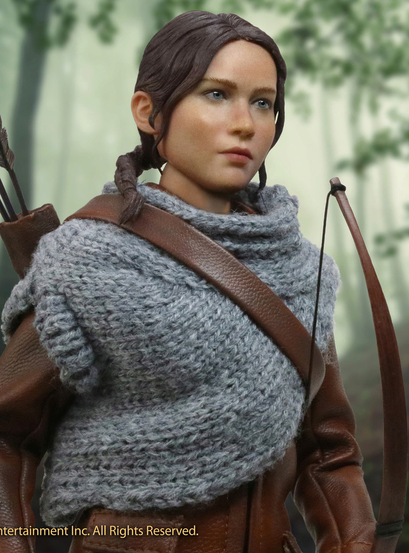 hungergames - NEW PRODUCT: [SA-0036] The Hunger Games Katniss Everdeen Hunting Version Star Ace 1/6 Figures 5s_35110