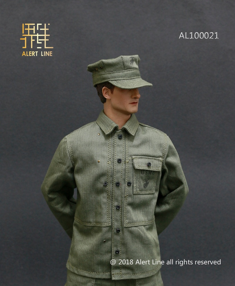 modern - NEW PRODUCT: Alert Line : 1/6 WWII US Marine Corps Browning Automatic Rifle (BAR) Gunner Set 618