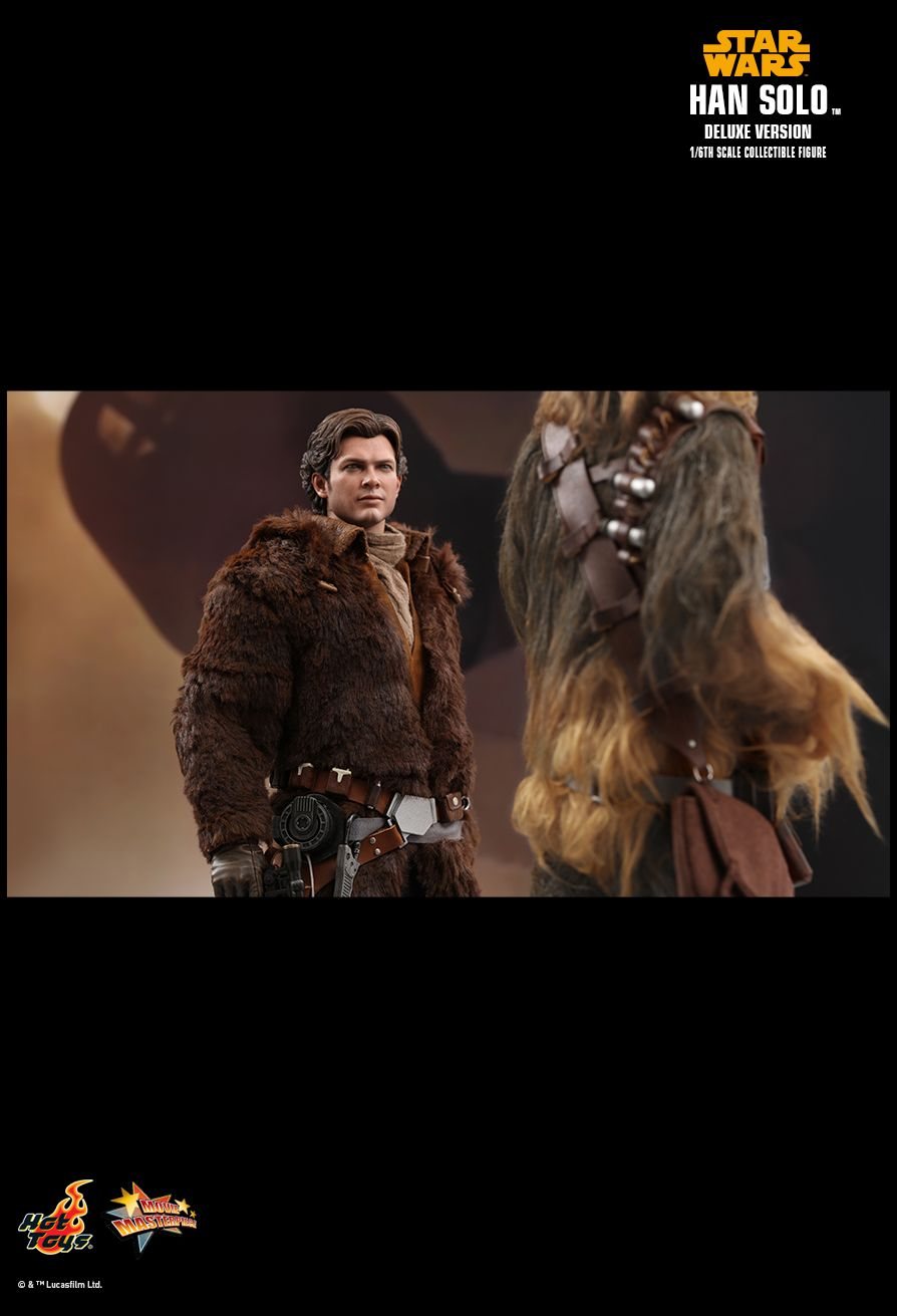 NEW PRODUCT: HOT TOYS: SOLO: A STAR WARS STORY HAN SOLO (TWO VERSIONS) 1/6TH SCALE COLLECTIBLE FIGURE 637