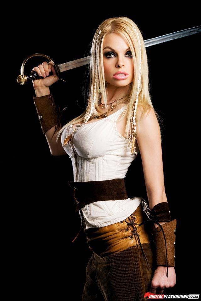 pirate - NEW PRODUCT: WOLFKING New Products: 1/6 Sexy Female Pirates - Head Carving Costume Set (WK89016A) 68de7d10