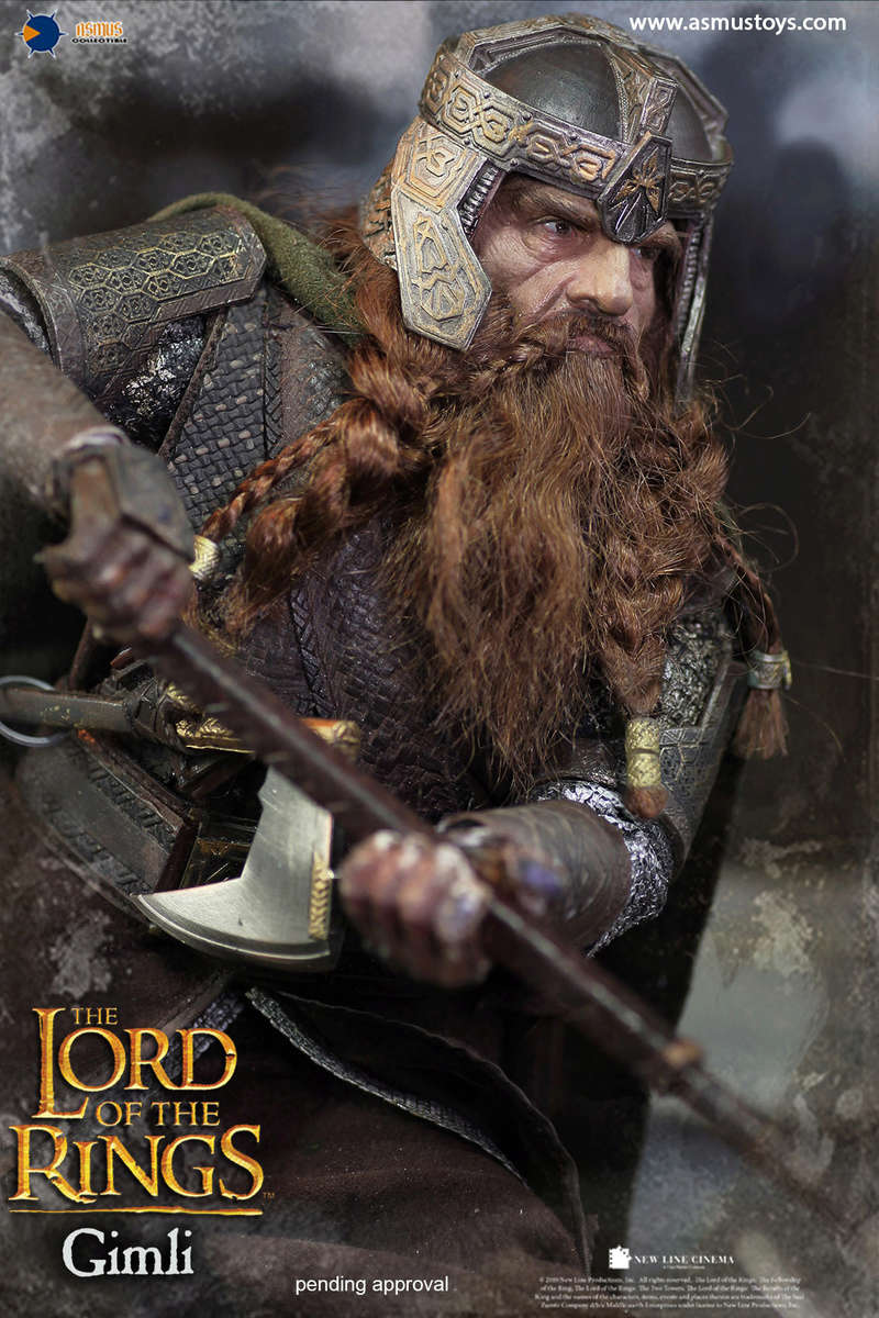 asmus - NEW PRODUCT: Asmus Toys The Lord of the Rings Series: Gimli (LOTR018) 711